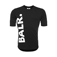 【予約】BALR. Tシャツ BIG LOGO ATHLETIC T-SHIRT BLACK