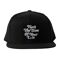 BANDEL キャップ Have The Time Of Your Life BAN-CP005 Black