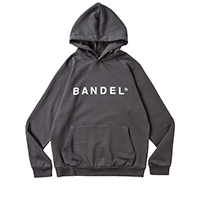 BANDEL フーディー Front Logo BAN-HD019 CHARCOAL GREY