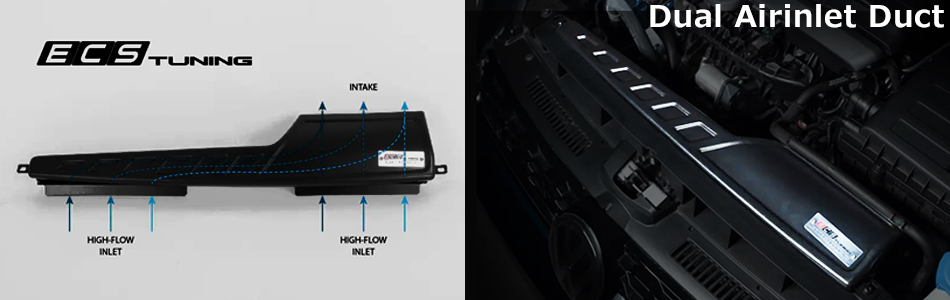 MST PERFORMANCE VW POLO GTI AW1 インテークキット