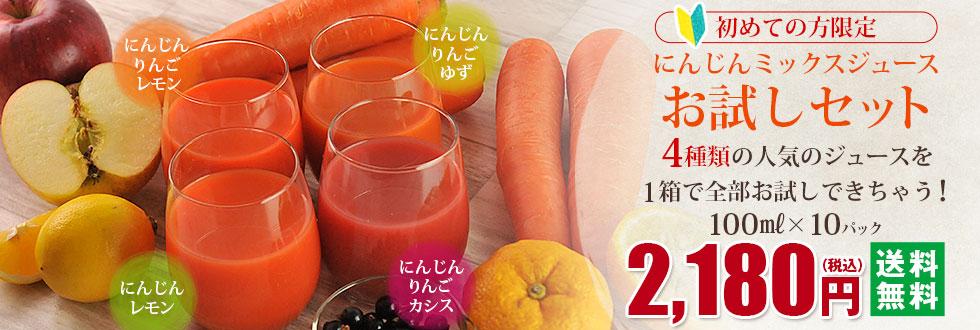 冷凍ジュースお試しセット