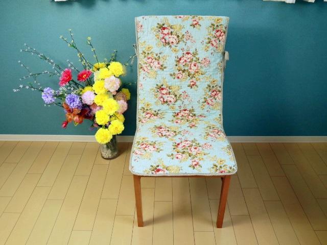 大きい牡丹の花柄椅子カバー